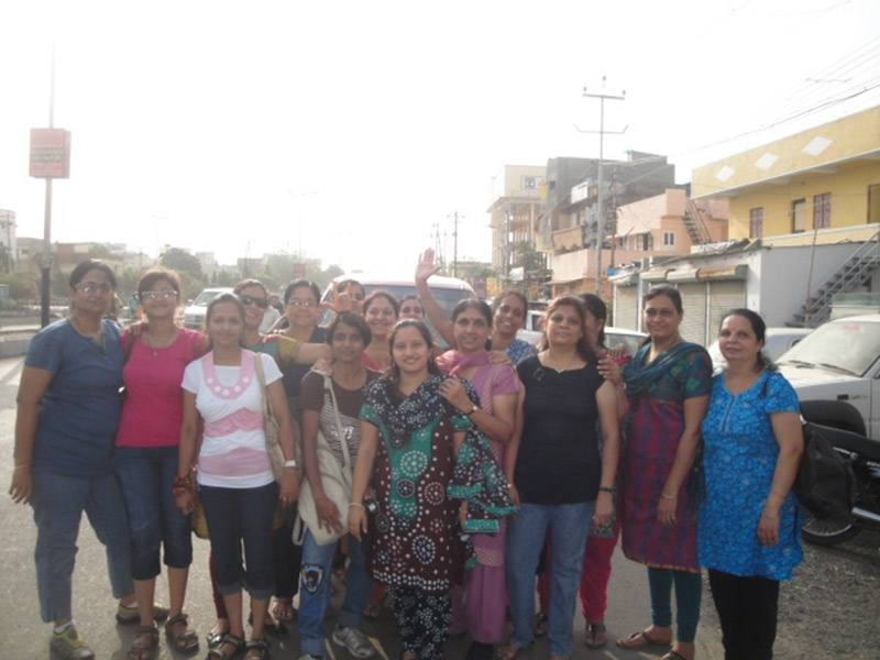Picnic at Pavagadh by Deaf Women