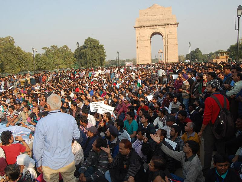 Historic Gathering At India Gate