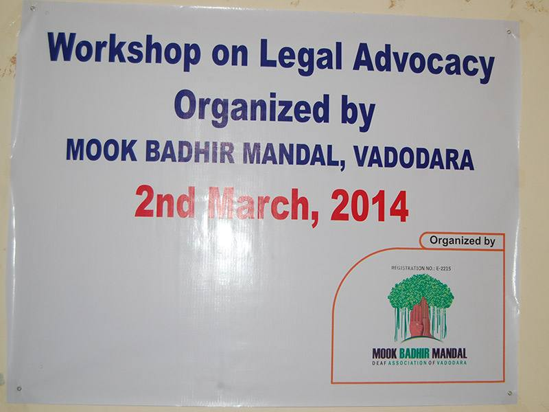 Workshop On Legal Advocacy