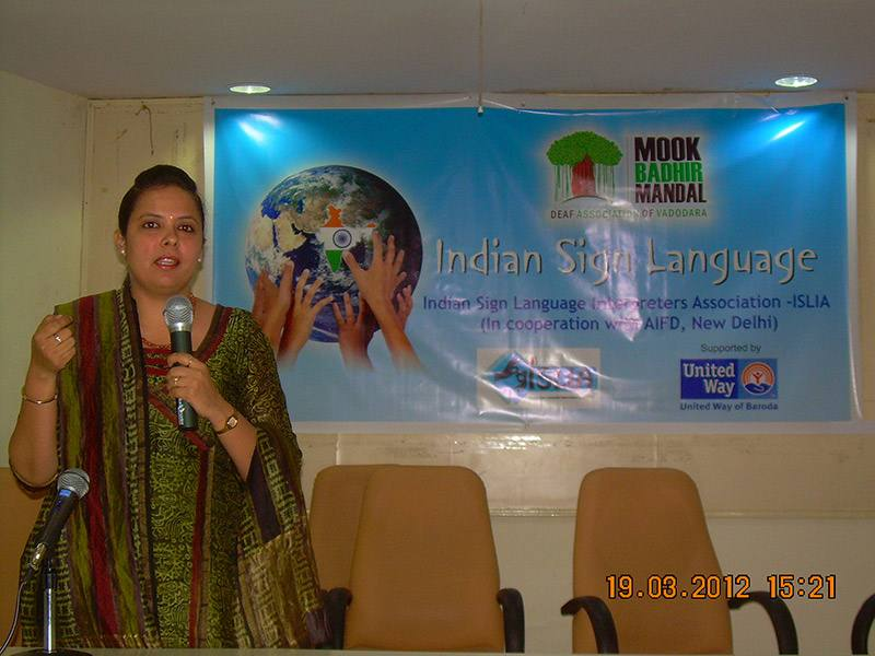 Indian Sign Language Seminar