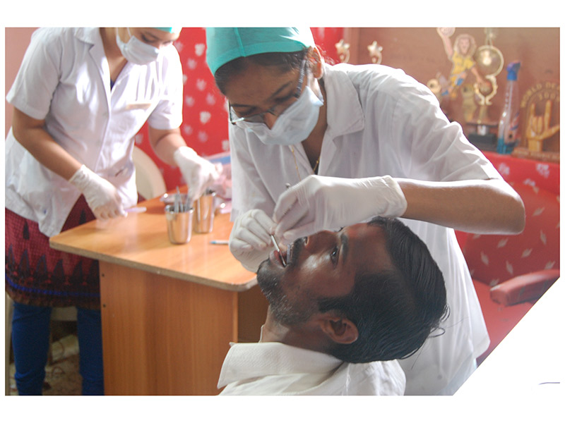 DENTAL CHECK-UP CAMP