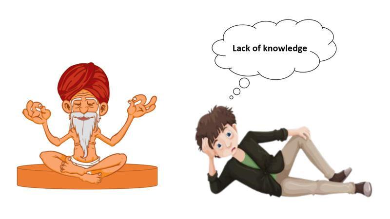 How do you gain knowledge?