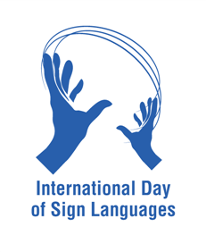 International Day of Sign Languages!