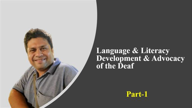 Language & Literacy Development & Advocacy Part 1